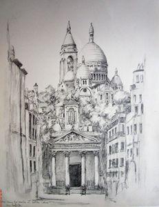 Notre Dame de Lorette et Sacré Coeur