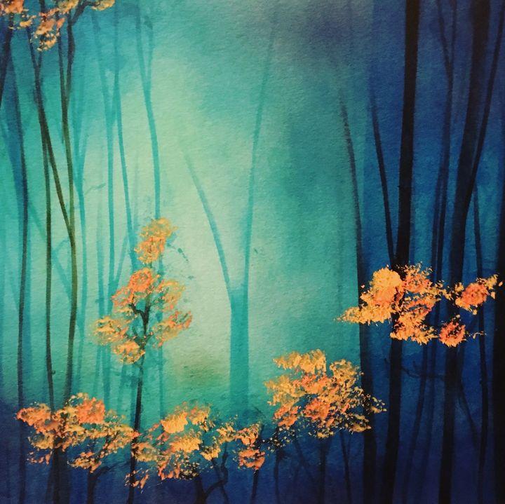 the forest - bert Eaglefield art