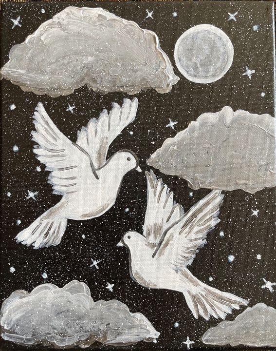 Love doves - renuartscollections