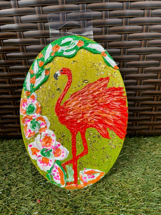 Flamingo artwork - renuartscollections
