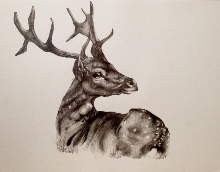 Fallow Deer - Eleanor-Rose Stamp Artist