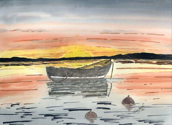 Tranquility - Eva Asons Art