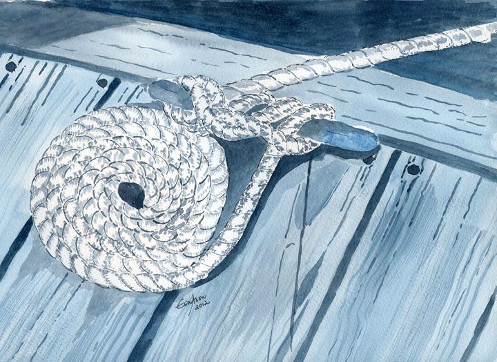 Nautical Ropes - Eva Asons Art