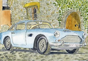 Aston Martin 1960 - Eva Asons Art