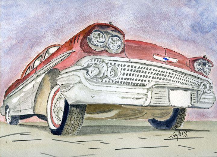 Chevrolet - Eva Asons Art