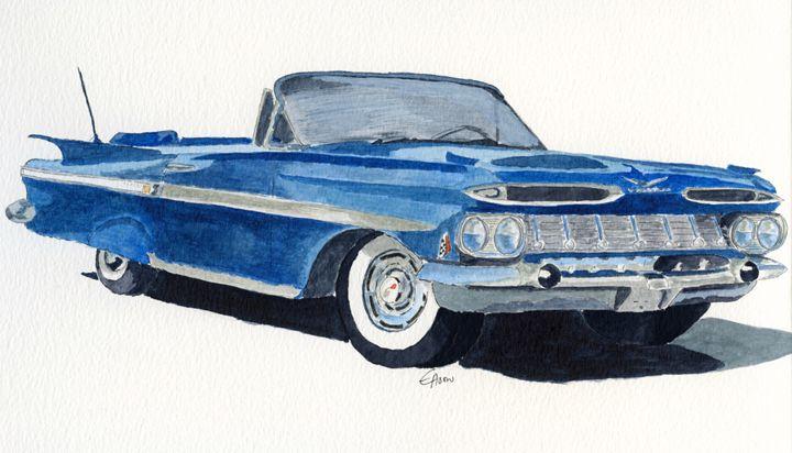 Chevy Impala 1957 - Eva Asons Art