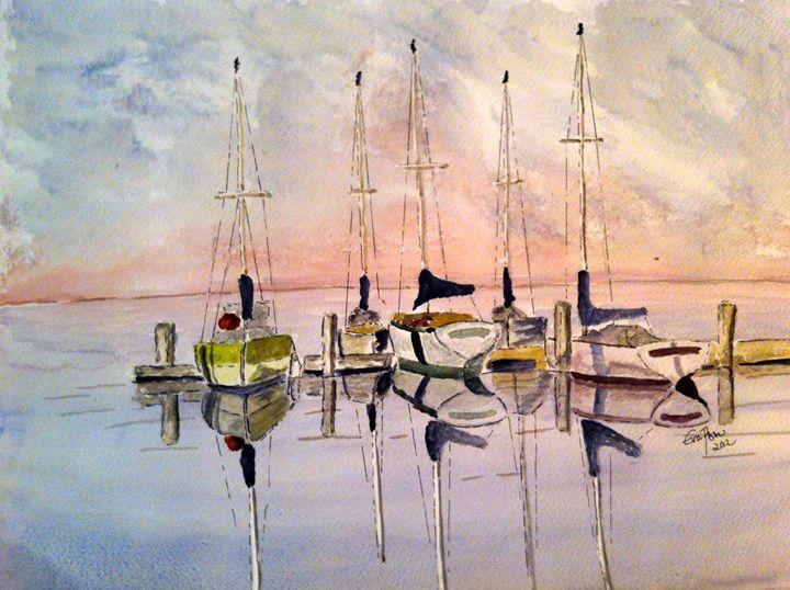 The Marina - Eva Asons Art