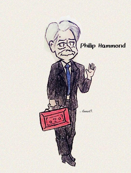 Philip Hammond Chibi - Political Pasta