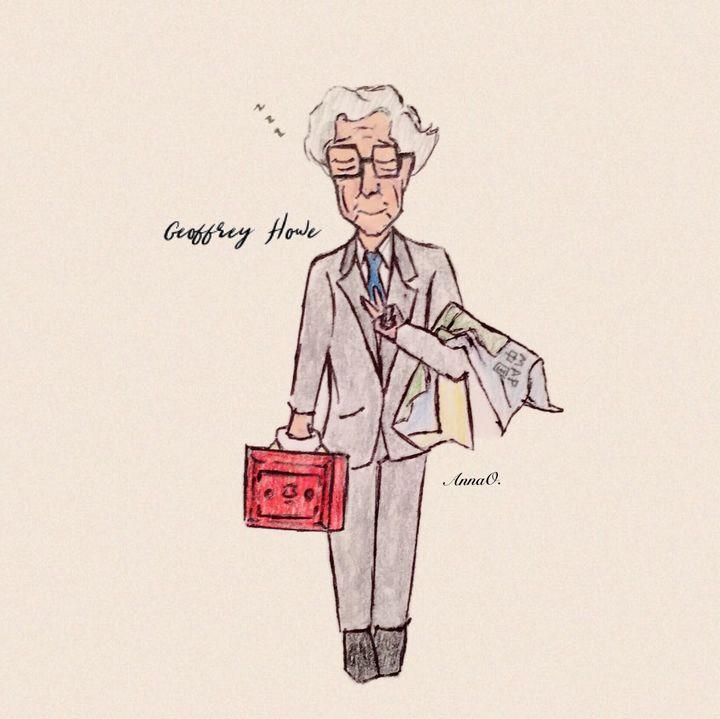 Geoffrey Howe Chibi - Political Pasta