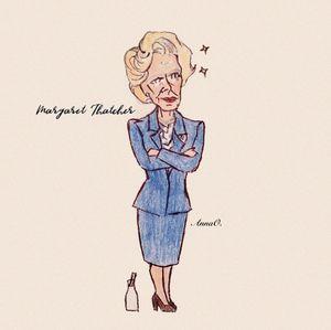 Margaret Thatcher Chibi