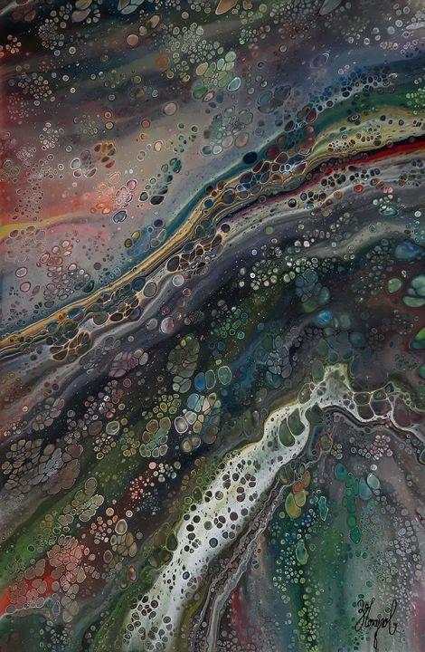 Abstraction - Metamorphosis  003  FC - Zoran Chokullov