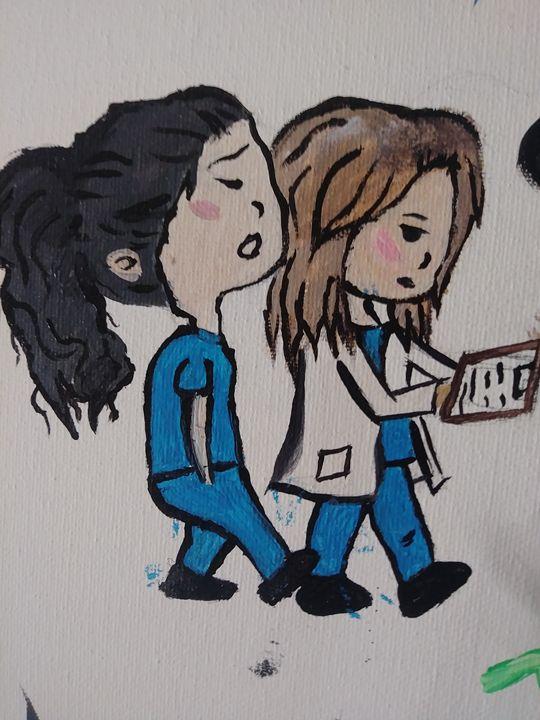 Meredith and Christina - Kodi Renteria