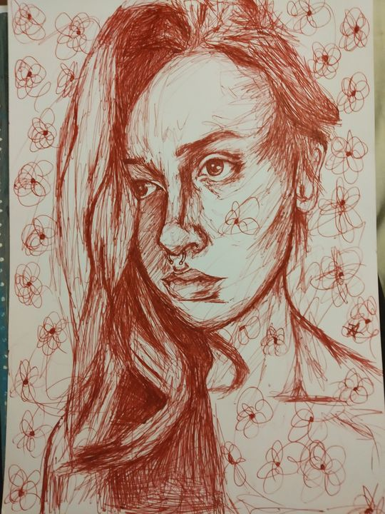 Self Portrait - Bohemian Artist