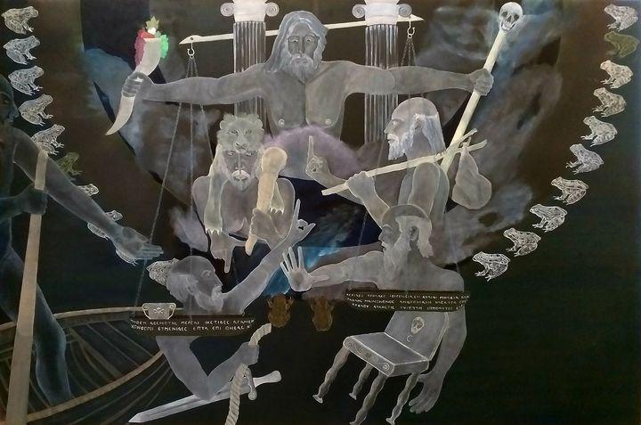 "ARISTOPHANES, "" THE FROGS"" - EVGENIOS ANNAS(ZARIFIS))"
