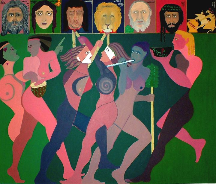 "EURIPIDE'S ""THE BACCHAE"" - EVGENIOS ANNAS(ZARIFIS))"