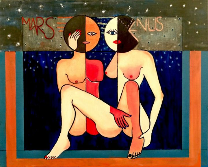 Men = Mars,Women =Venus - EVGENIOS ANNAS(ZARIFIS))