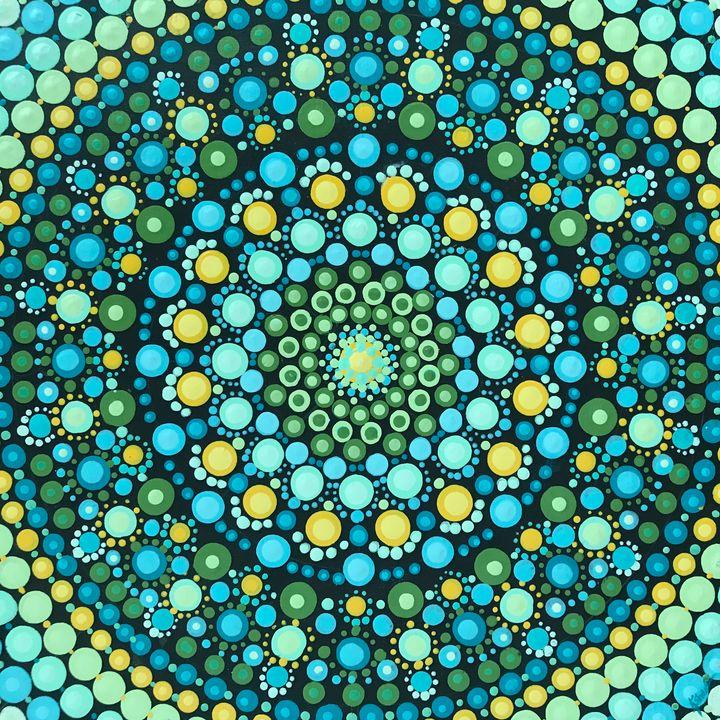 Vibrant dotty - Kathy Sheeran