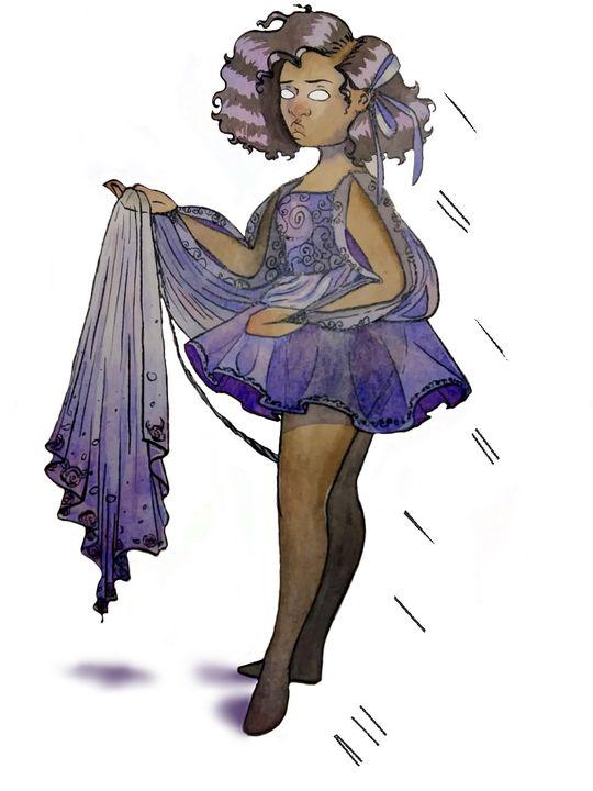Representation -in purple - Aracely's art