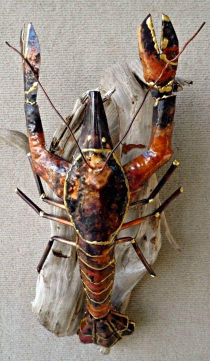 Copper Lobster - Copper Whimsea's