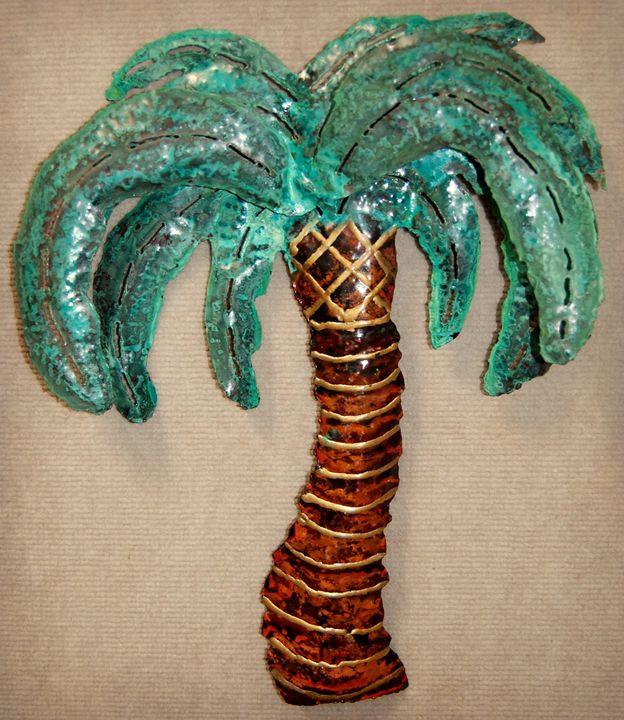 Copper Palm Tree - Copper Whimsea's