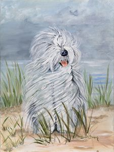 Breezy Day On the Beach - Barb Brown Fine Art