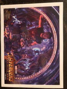 Avengers Infinity War Lithograph