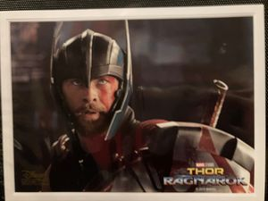 Thor ragnarok lithograph