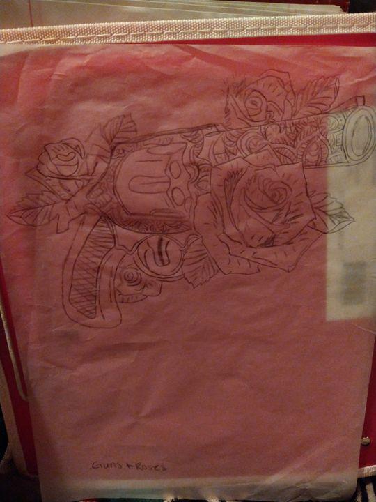 Guns N Roses - Crazee Art Boutique