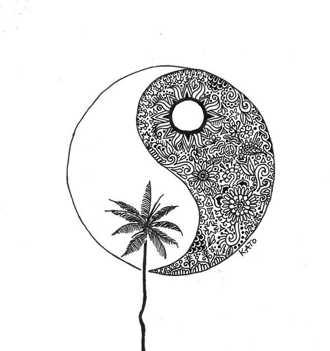 Yin and Yang - KADoodles