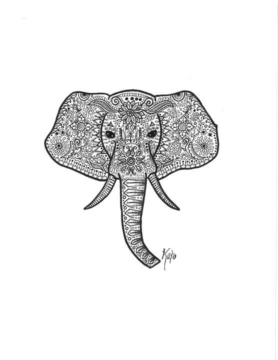 Elefante - KADoodles