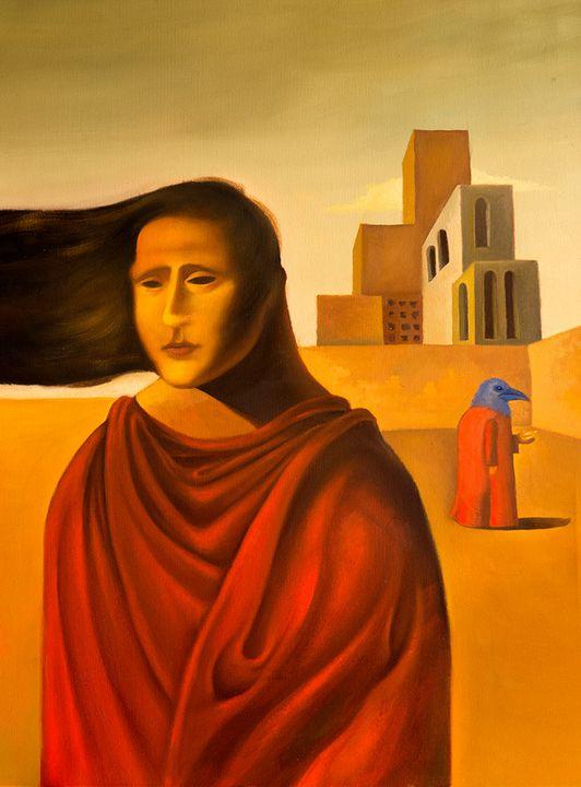 Melancholy - Rare contemporary art