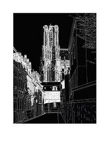 CATHEDRALE DE REIMS rue d'Anjou