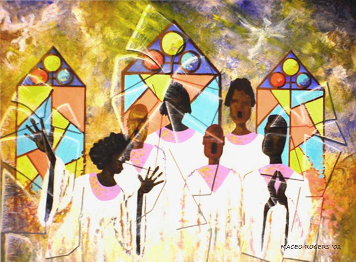 Voices of Praise - Maceo Rogers - Art