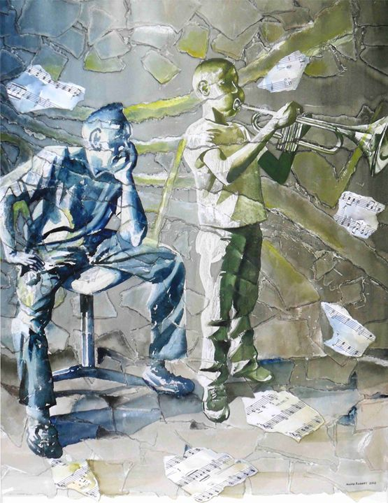 Broken Notes - Maceo Rogers - Art
