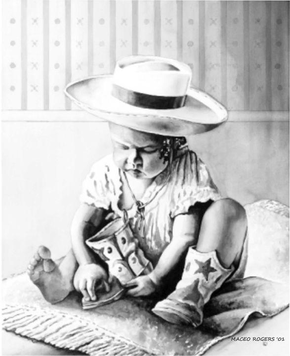 Getting Ready - Maceo Rogers - Art