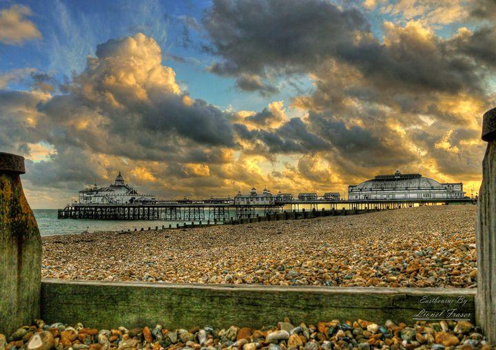 HDR Eastbourne Pier Sunset - Lionel Fraser, Pictures of Eastbourne, England