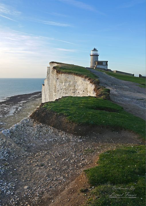 Beachy Head Lighthouse Belle Tout - Lionel Fraser, Pictures of Eastbourne, England