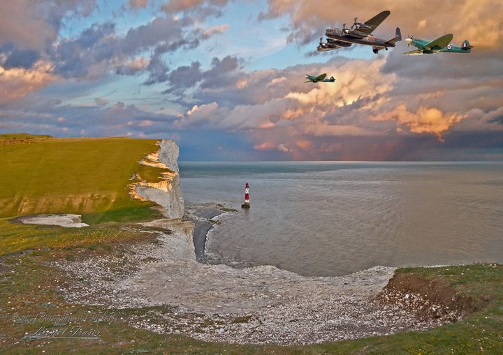 Battle of Britain Memorial Flight - Lionel Fraser, Pictures of Eastbourne, England