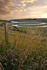 Cuckmere Haven River Sunset at Seven