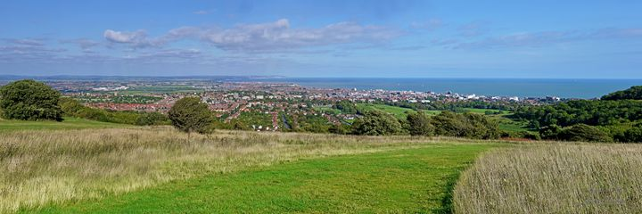 View Over Eastbourne - Lionel Fraser, Pictures of Eastbourne, England
