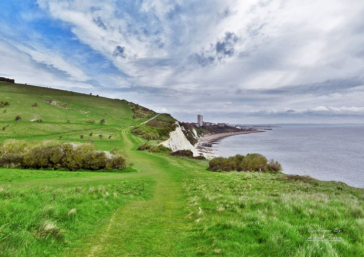 Southdowns Way - Lionel Fraser, Pictures of Eastbourne, England
