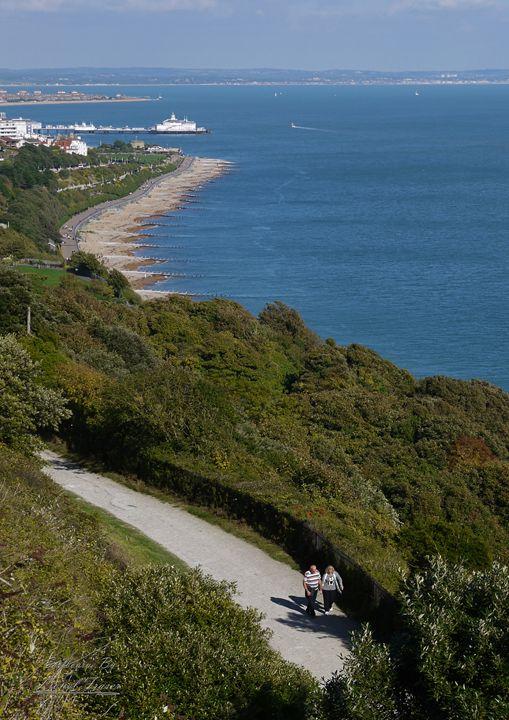 Eastbourne Coast - Lionel Fraser, Pictures of Eastbourne, England