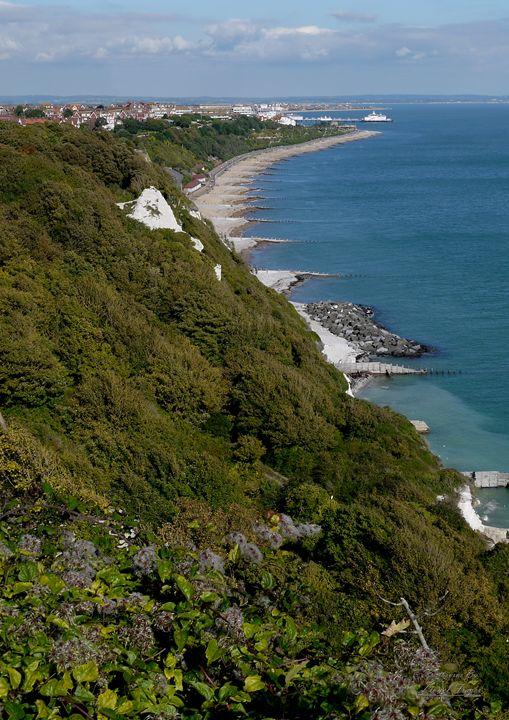 View Over Eastbourne Coast - Lionel Fraser, Pictures of Eastbourne, England