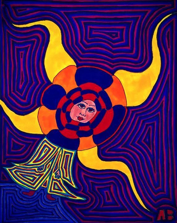 My Lady the Sun - Casanova Art Gallery