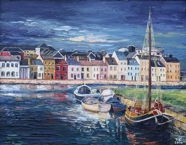 Irish landscape - Ia saralidze