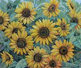 Sunflowers,flowers,realism