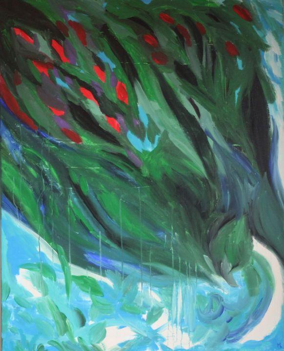 Dans mon jardin d'hiver - Magda Hoibian Artiste