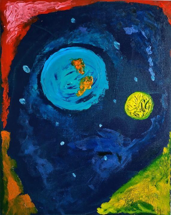 La nuit froide - Magda Hoibian Artiste