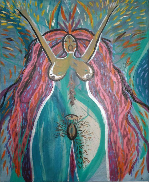My-My 1 déesse - Magda Hoibian Artiste