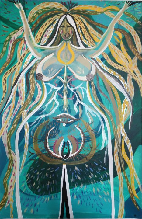 My-Mi 2 Déesse - Magda Hoibian Artiste